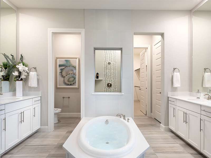 large bathroom with space