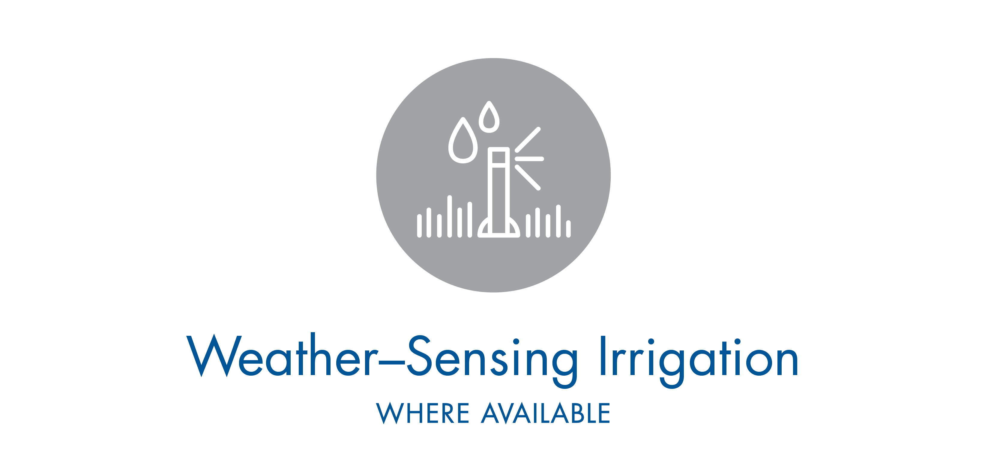 Weather Sensing Irrigation