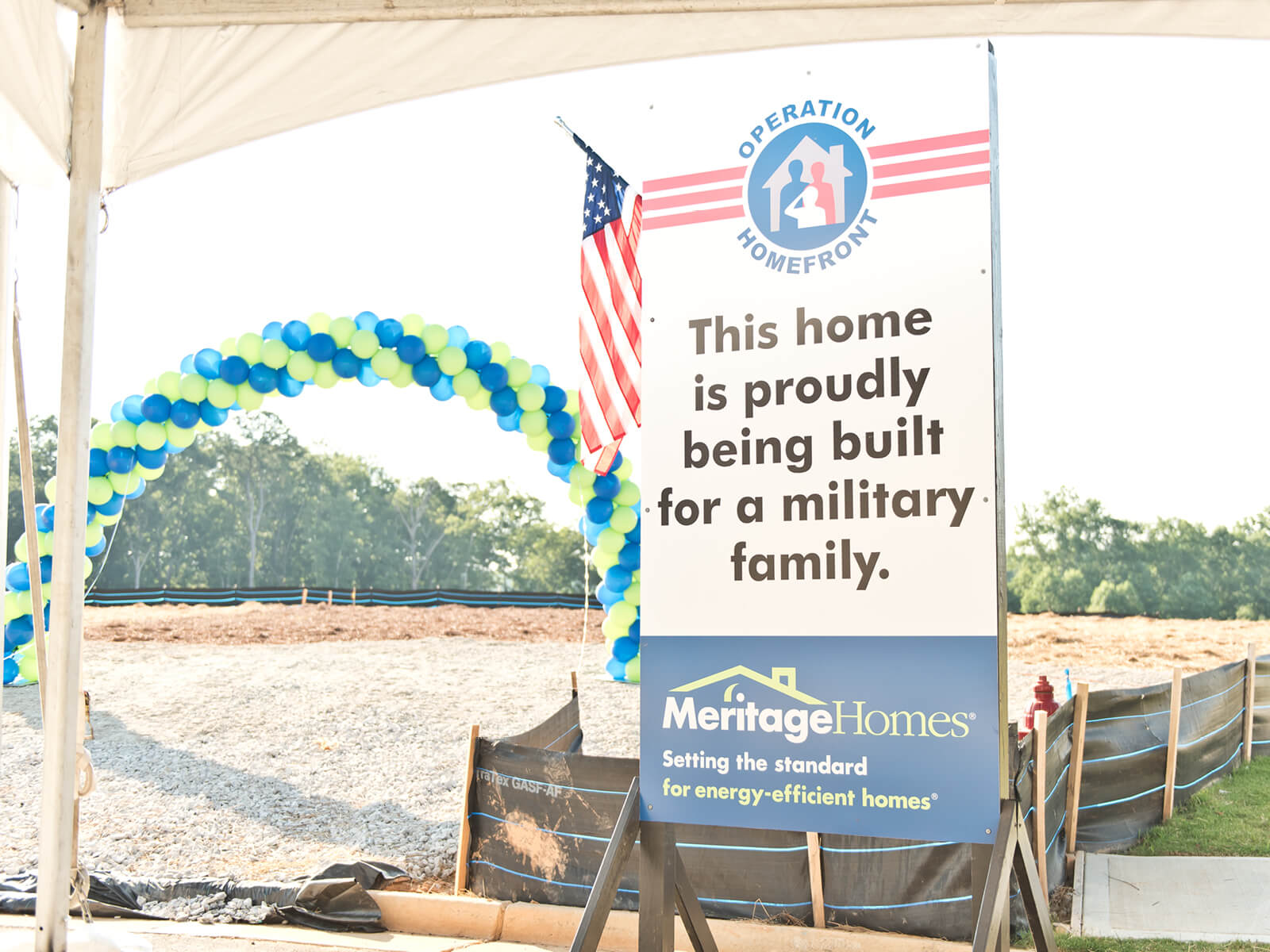 Operation Homefront 2019 home Giveaway