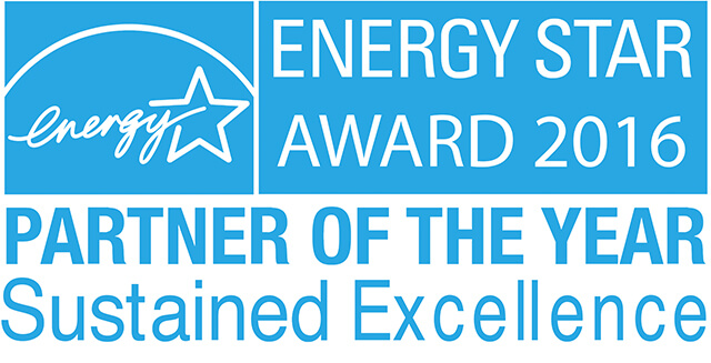Energy Star Award 2016 - Partner of the Year Sustained Excellence