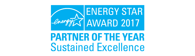Energy Star Award 2017 - Partner of the year - Sustained excellence