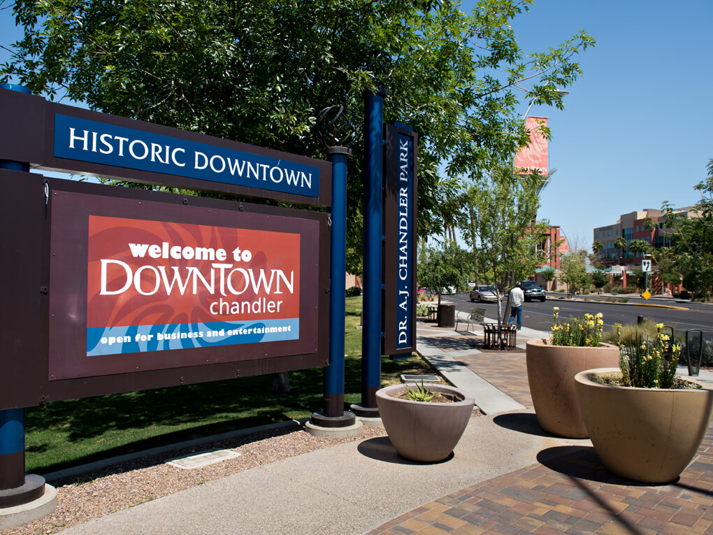 History Downtown Chandler