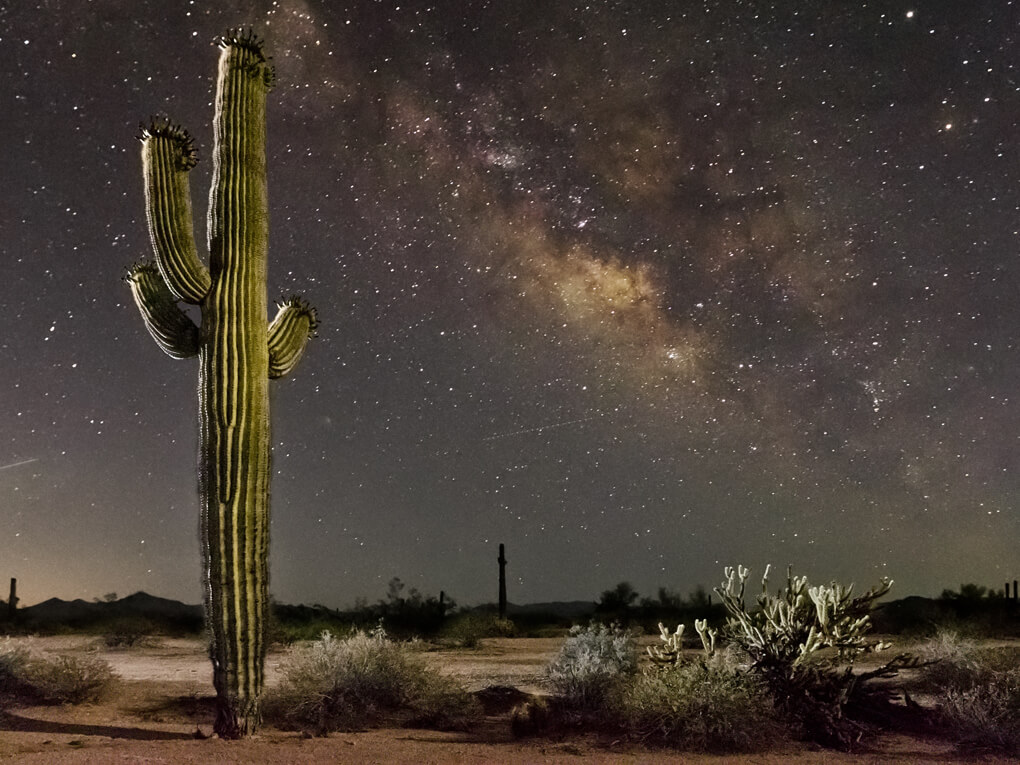 Starry night in Maricopa