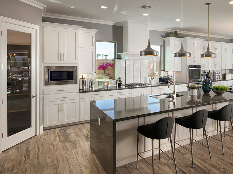 home design center. Kitchen With Dark Granite And White Cabinets Design Inspiration  Home Decorating Ideas Meritage Homes