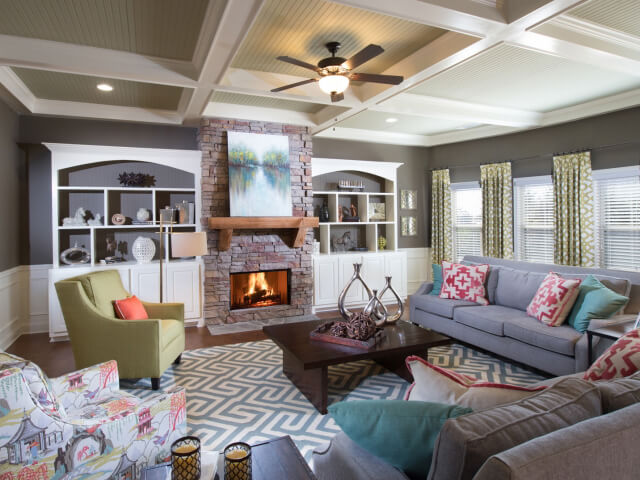 Interior decorator atlanta family room Allison Allen Cobblestone Farms Atlanta Ga Living Room With Fire Design Inspiration Home Design And Decorating Ideas Meritage Homes