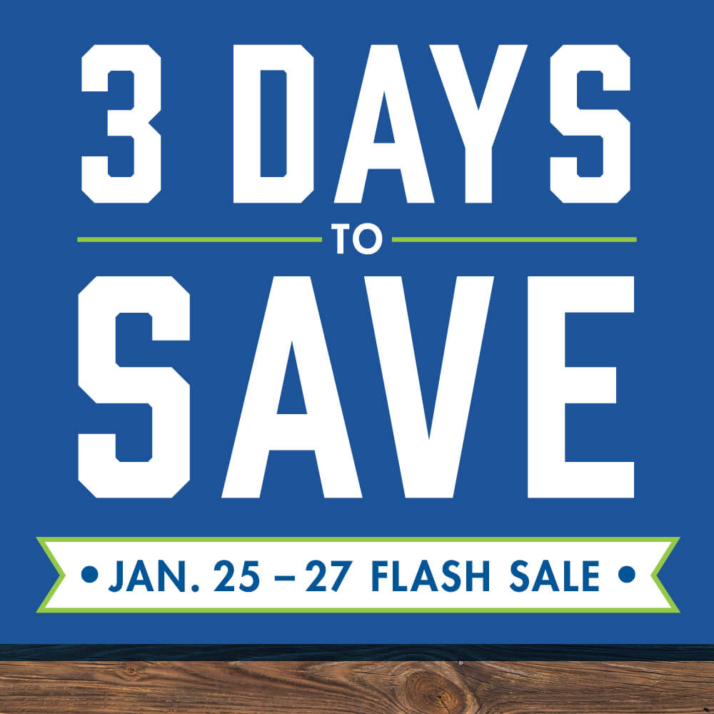 Flash Sale 19 - 3 days to save