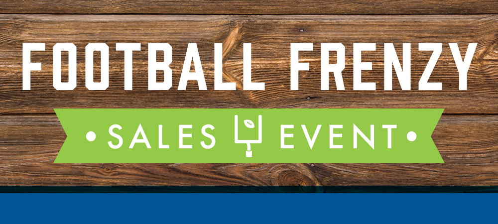 Football Frenzy Sales Event