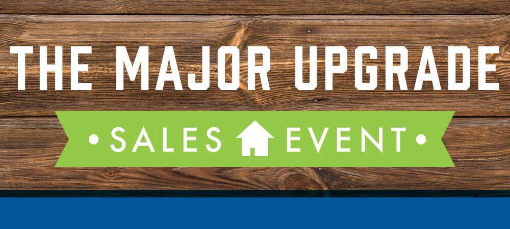 The Major Upgrade Sales Event