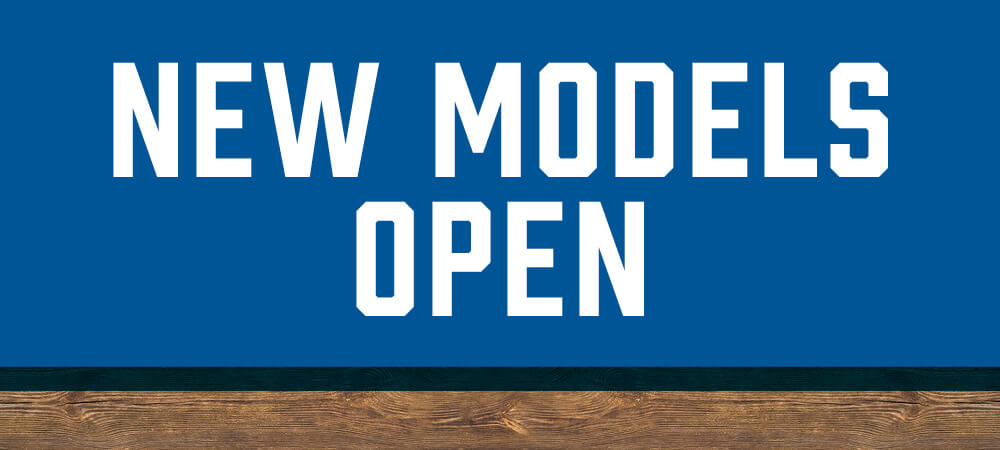 new models open