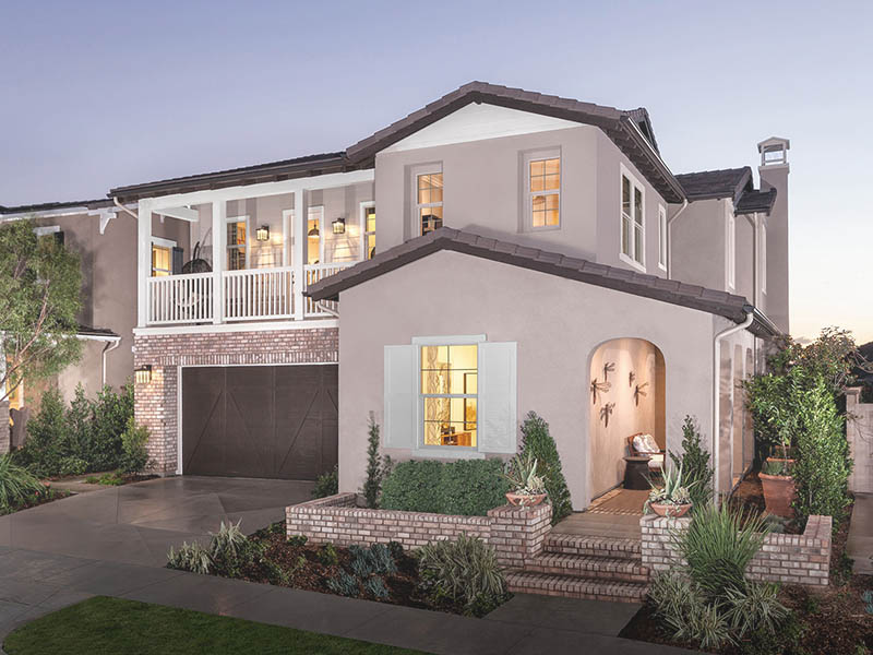 California Build a Home with Meritage Homes