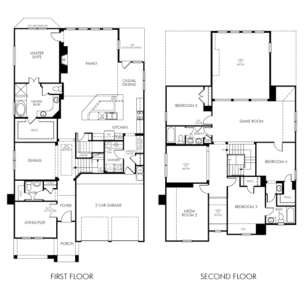The Bluestar Model 4br 4ba Homes For Sale In The Colony