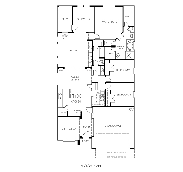 Meritage Homes Floor Plans | The Cimarron 4200 Model 3br 2ba Homes For Sale In Pearland Tx