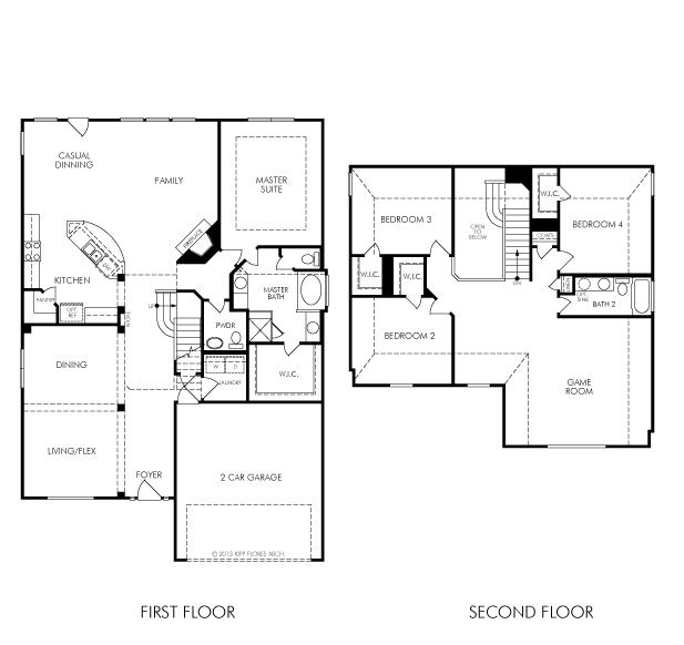 Floor Plans Luxury Lake Home: 13512 Palo Lake Lane