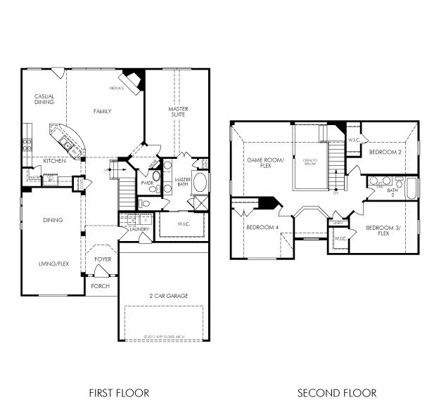 The dylan 3591 model 4br 3ba homes for sale in houston for Legacy homes floor plans