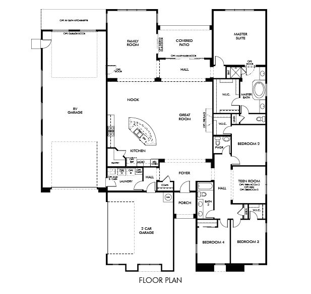 Zion Floor Plan