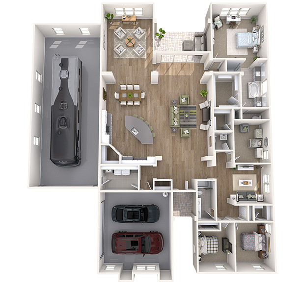 Zion 3D Floor Plan