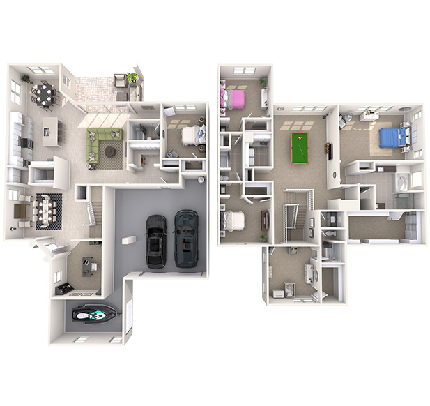Morrow 3D Floor Plan