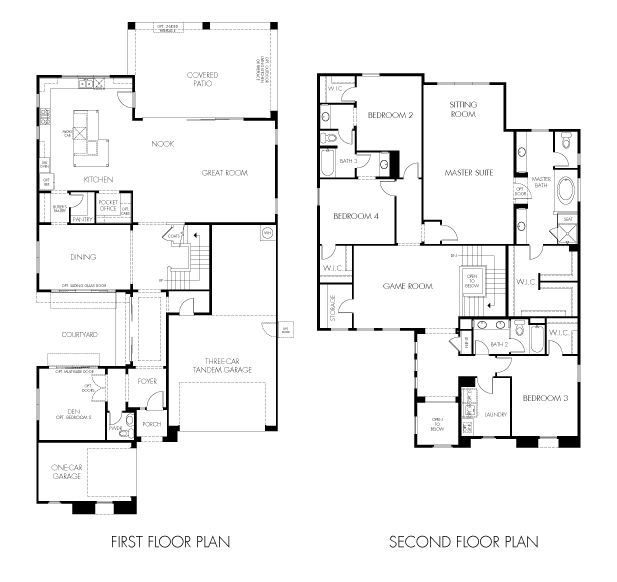 Thunder Basin Plus Floor Plan