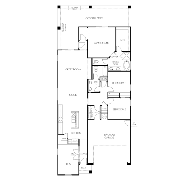 Bacall Plus Floor Plan
