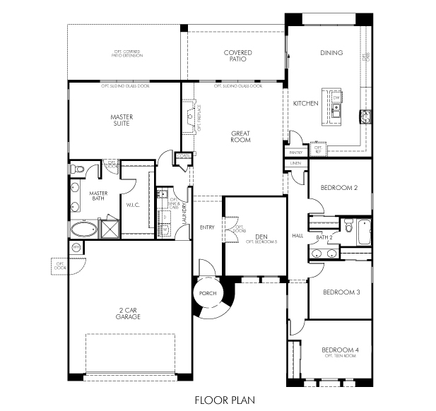 Roosevelt Floor Plan