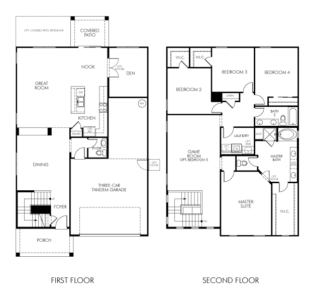 Hitchcock Floor Plan