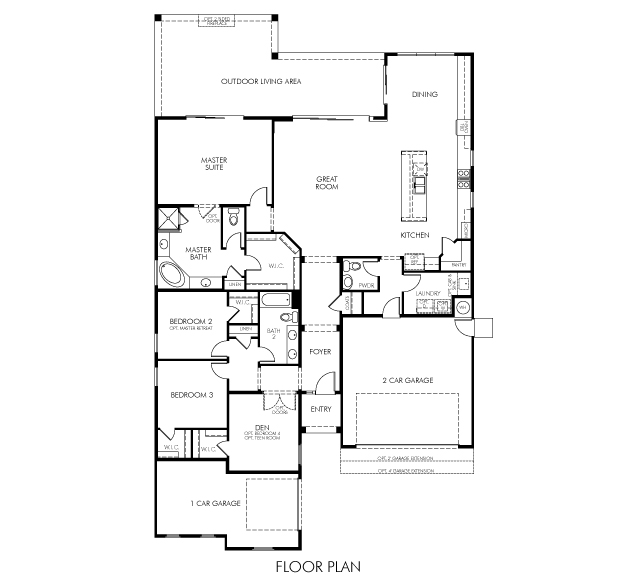 Broadmoor Plus Floor Plan