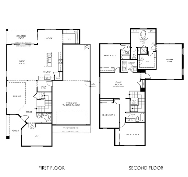 Gallatin Floor Plan