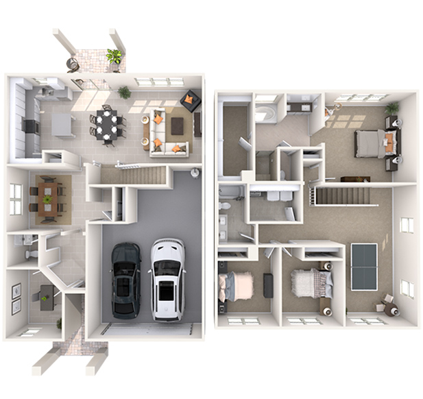 Hayworth 3D Floor Plan