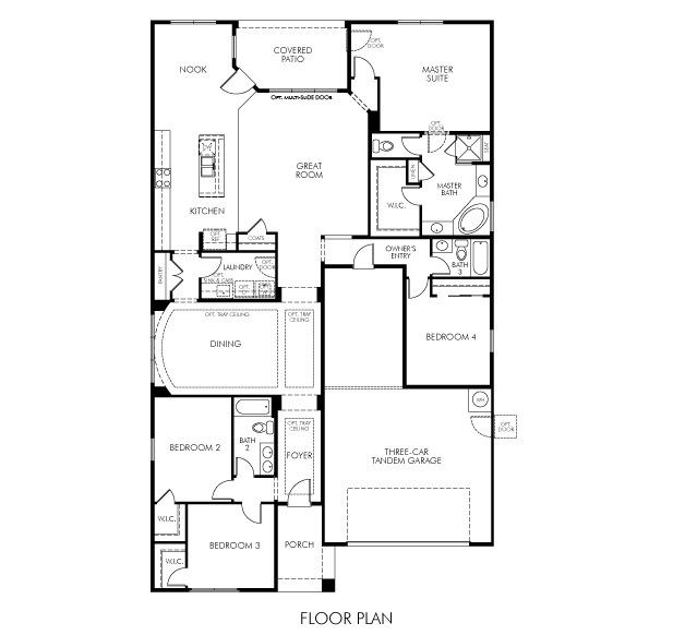 Sierra Floor Plan