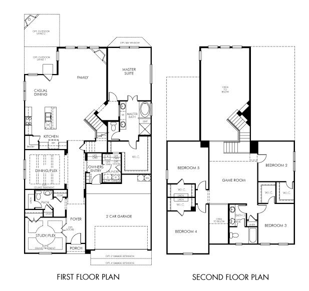 The Glen Rose 4311 Model 5br 3ba Homes For Sale In San